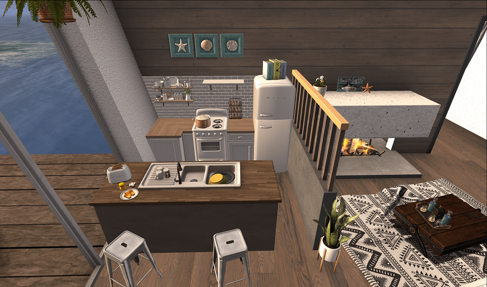Hive cozy kitchen and YourDreams