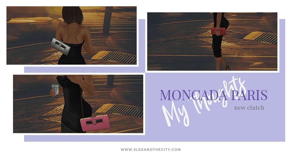 Moncada Paris Clutch Second Life