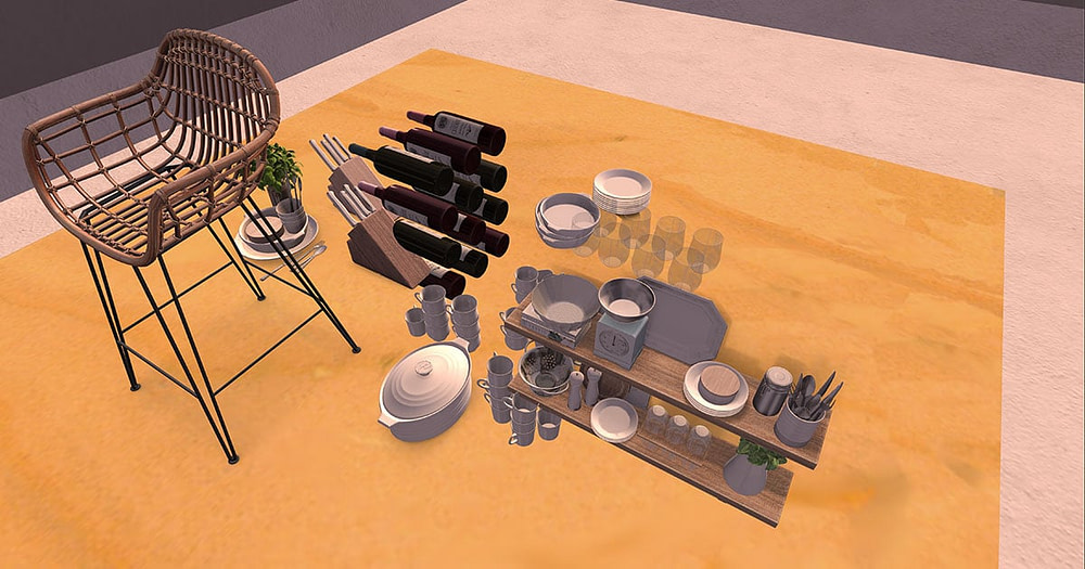 What is the best Second Life kitchen