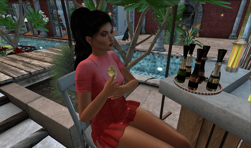 Second Life food and drinks dispenser from Cinoe and no59