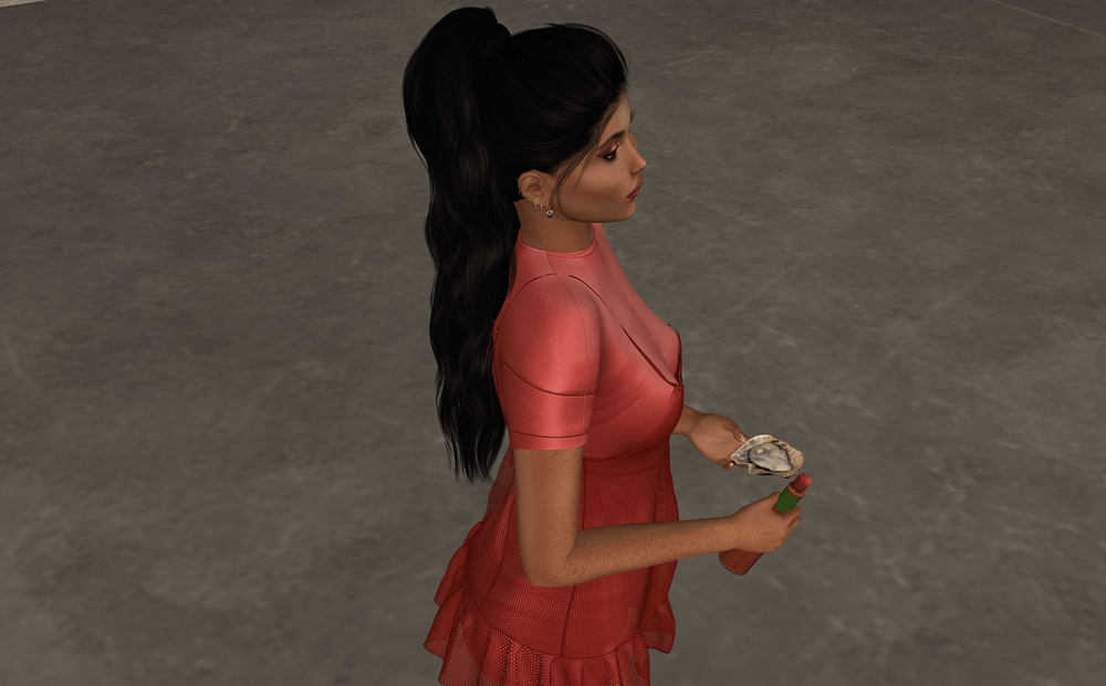 Second Life Luc Oysters dispenser